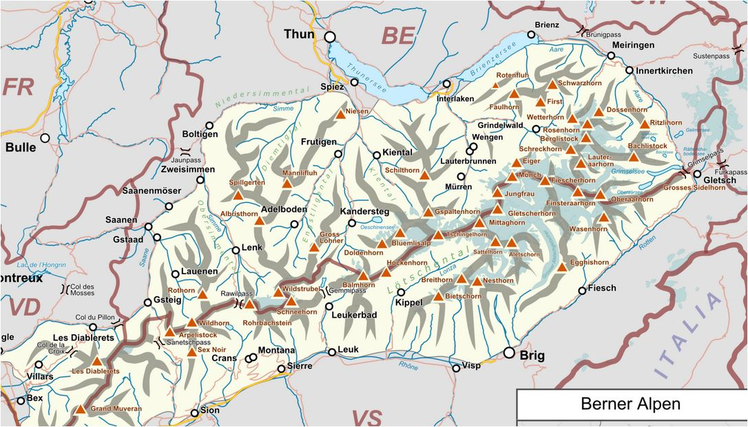 karte skigebiete schweiz