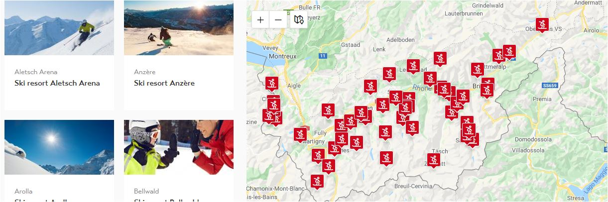 karte skigebiete wallis