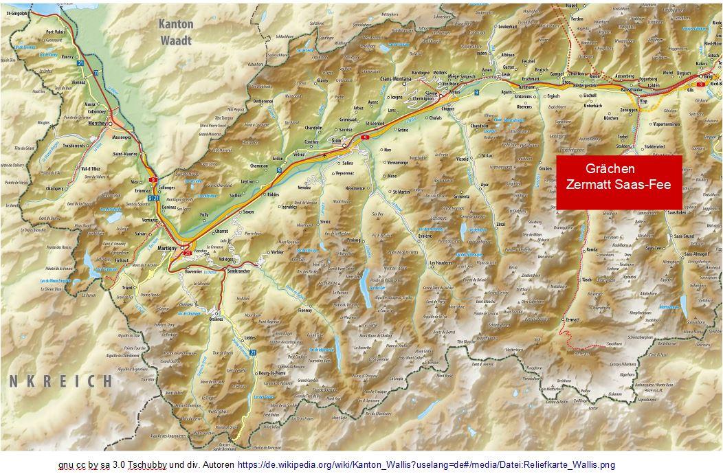 karte skigebiete im wallis