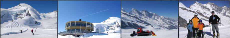 sommer skifahen alpen
